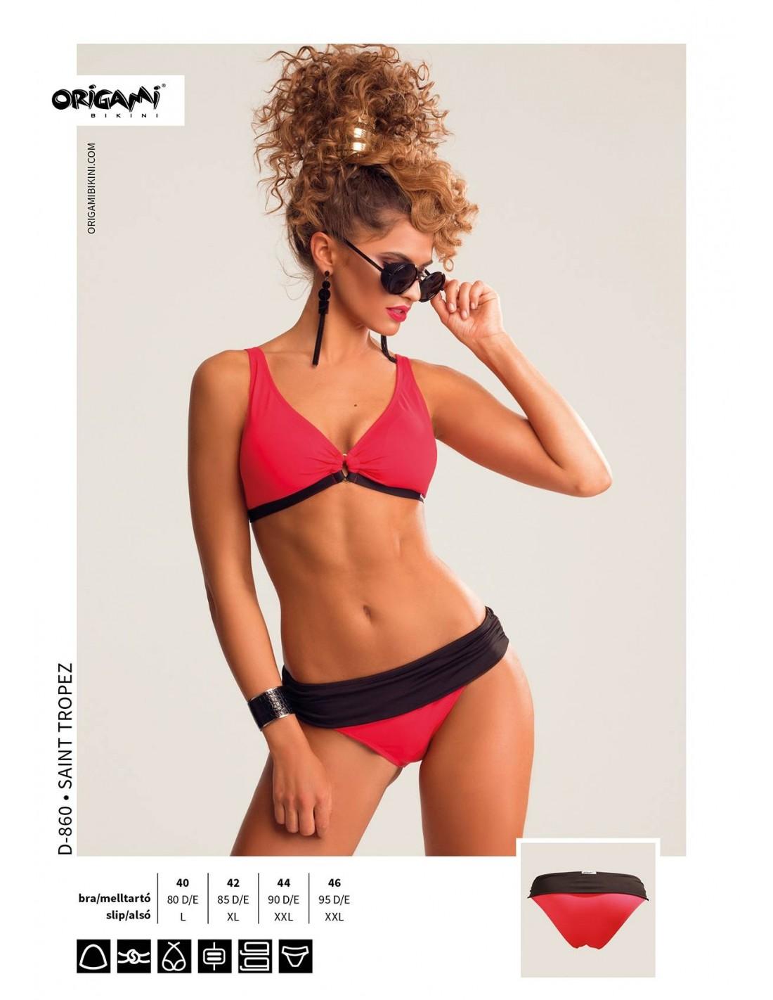 Origami Bikini Saint Tropez D-860 Méret 95D   3XL   46 d5869ae2d0