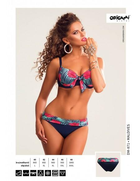 2a2e0189c6 Origami Bikini Maldives DM-871 Méret 80D / L / 40