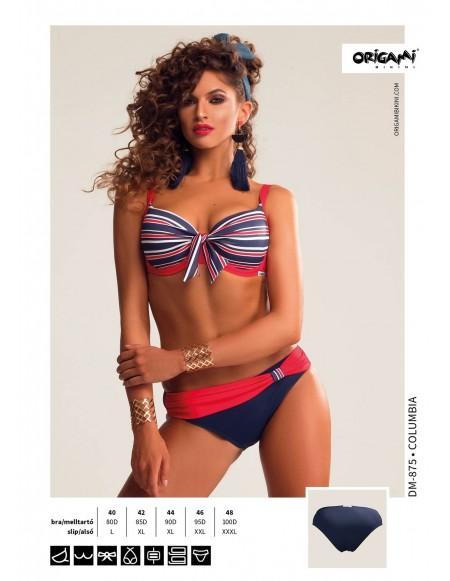 Columbia DM-875 Origami Bikini