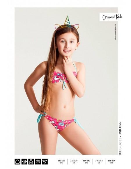 Unicorn Kids-B-881 Origami Bikini