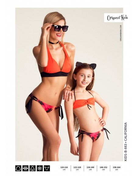 California Kids-B-883 Origami Bikini