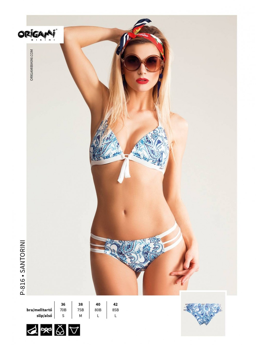 ... Origami Bikini P-816 Hódi Pamela fürdőruha ... 32c6102fcd