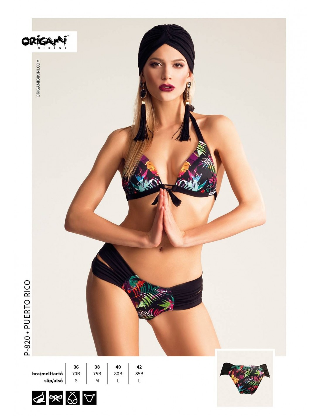 Origami Bikini Puerto Rico P-820 5049085256