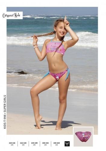 Super Girls Kids-T-998 Origami Bikini