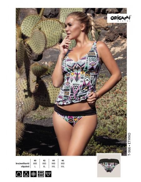 839a961738 Ethno T-966 Origami Bikini Méret 80D / L / 40