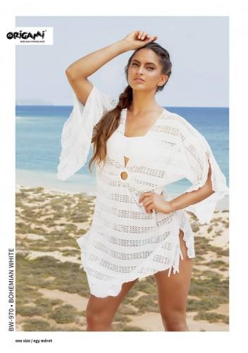 Bohemian White strandruha BW-970 Origami Bikini