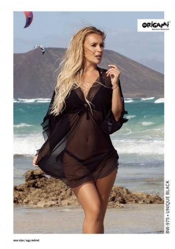 Unique Black Beachwear BW-975 Origami Bikini