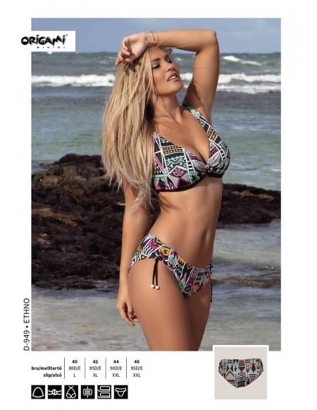 6ad20dbd07 Ethno D-949 Origami Bikini Méret 80D / L / 40