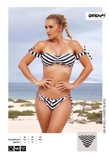 Candy Black KK-M-931 Origami Bikini