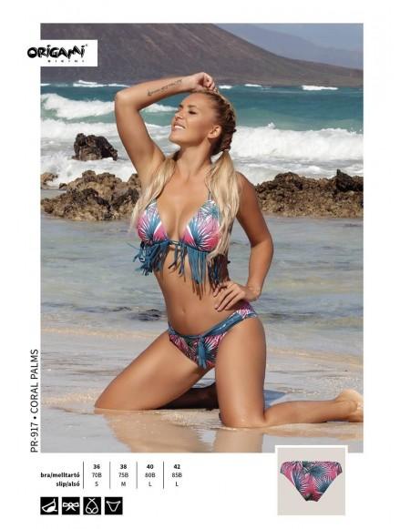Coral Palms PR-917 Origami Bikini