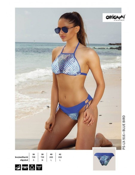 Blue Bird PS-LX-916 Origami Bikini