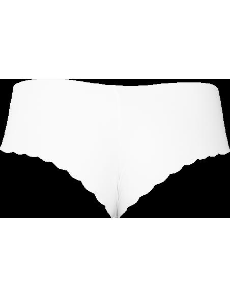 Origami Lingerie fehér hipster fehérnemű alsó hátulja
