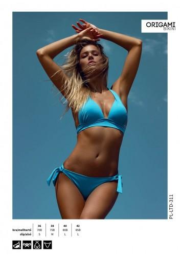 17d0f774a4 Limitált kiadás Turquoise PL-LTD-311 Origami Bikini