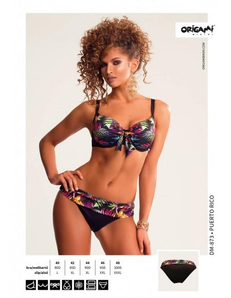 Puerto Rico DM-873 Origami Bikini