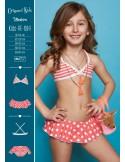 Origami Bikini Kids-PE-694 Madeira