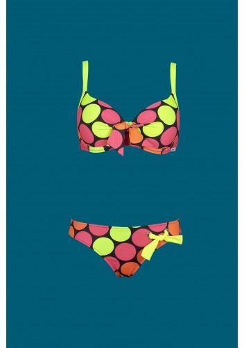 Origami Bikini DM-673 Maui Neon