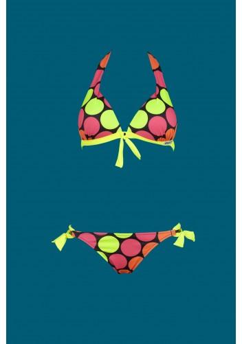 Origami Bikini P-605 Maui Neon