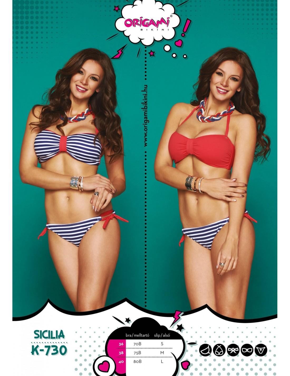 Origami Bikini Sicilia K-730 Méret 80B   L   40 7c80445dc5