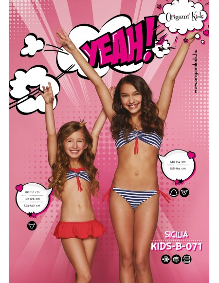 Sicilia Kids-B-071 Origami Bikini