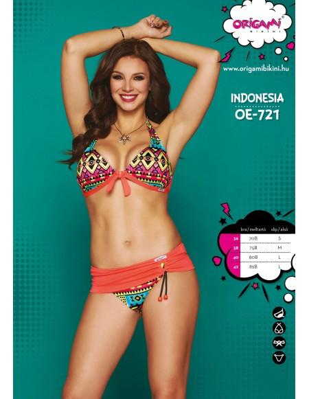 Indonesia OE-721 Origami Bikini