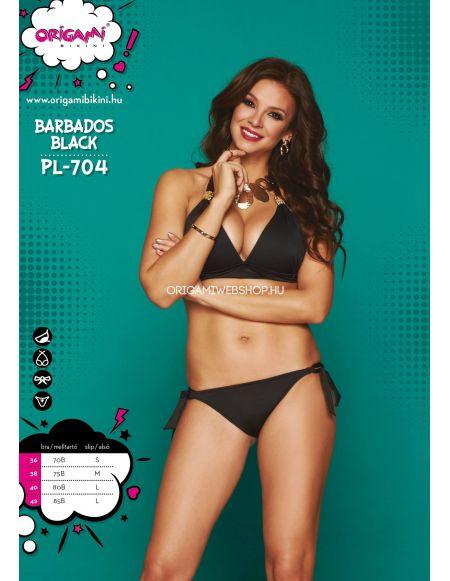 Barbados Black PL-704 Origami Bikini