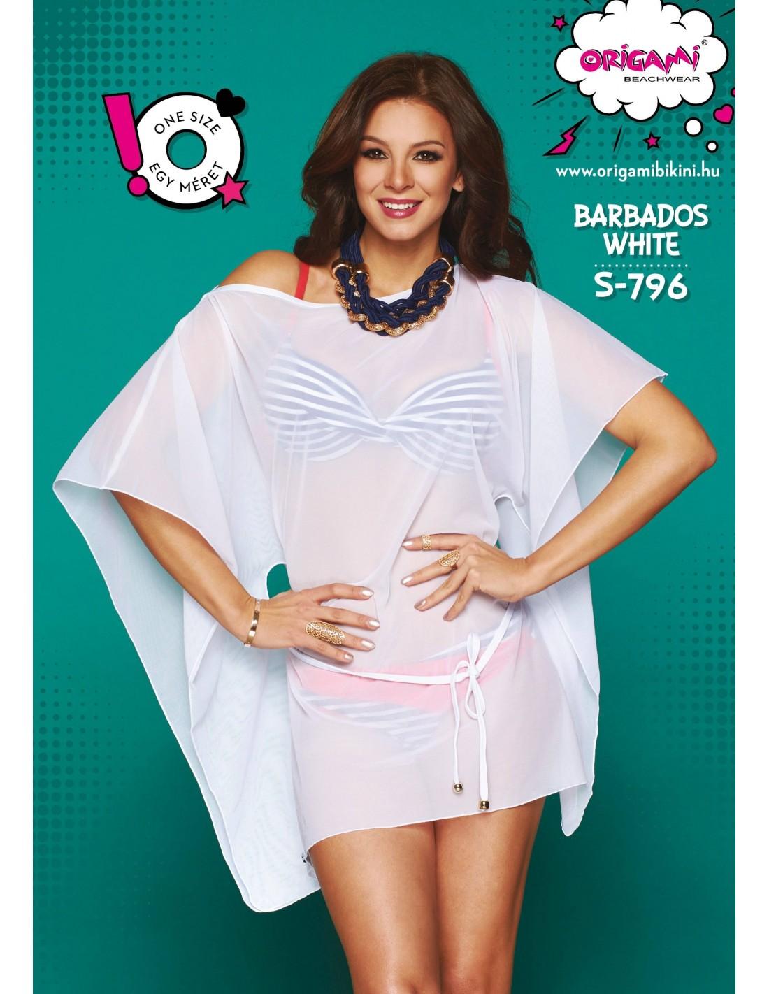 Origami Bikini Barbados White S-796 20972ceab4