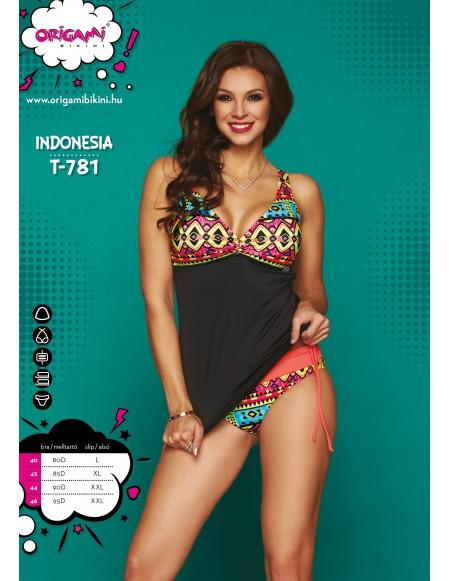 Indonesia T-781 Origami Bikini