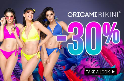 Origami-bikini plus size swimsuits